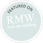 Wedding videography featured on Rock My Wedding